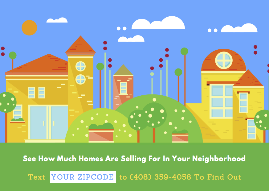 Homes By SMS Postcard Design Example